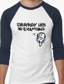 Chloe's Decal - Everybody Lies Men's Baseball ¾ T-Shirt