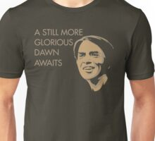 Carl Sagan - A Glorious Dawn Unisex T-Shirt