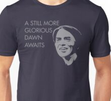 Carl Sagan - A Glorious Dawn (Grey) Unisex T-Shirt
