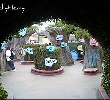 Alice In Wonderland Maze :) by Kelly Healy