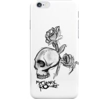 My Chemical Romance, ROSES'N'SKULL iPhone Case/Skin