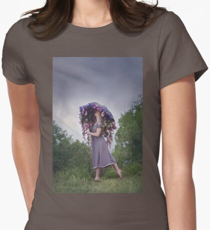 Perennial Parasol Womens Fitted T-Shirt
