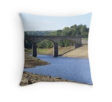 Leighton reservoir North Yorkshire Throw Pillow