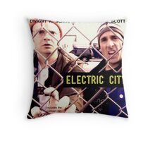 Electric City Album Artwork Throw Pillow