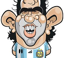 Carlos Tevez by Chris Sommerville