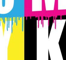 Cool Kids Use Subtractive Color Sticker