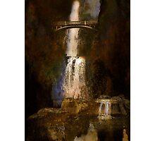 Multnoma falls - Oregon Photographic Print