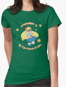 V Versus the Forces of Evil Womens Fitted T-Shirt