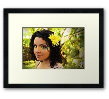 Forest Nymph - Erica Williams Framed Print