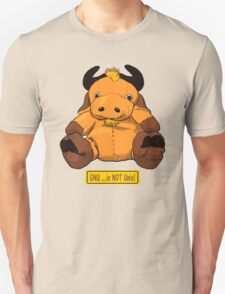 GNU...is NOT the same as UNIX! Unisex T-Shirt