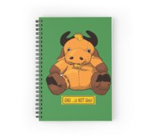 GNU...is NOT the same as UNIX! Spiral Notebook