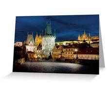 Charles Bridge, Prague Greeting Card