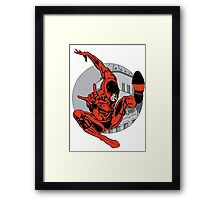 Daredevil The Man Without Fear Framed Print