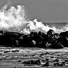 Crushing wave by Antonio Zarli