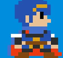 8 bit Marth by thesocialbomber