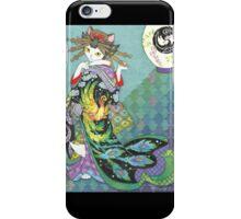 Phoenix Uchikake Kimono Kitty iPhone Case/Skin