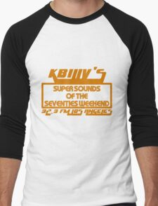 Super Sounds of the 70's Weekend (Orange) Men's Baseball ¾ T-Shirt