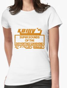 Super Sounds of the 70's Weekend (Orange) Womens Fitted T-Shirt