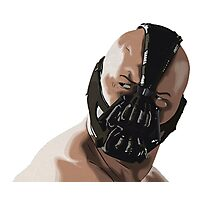 Bane Drawing - The Dark Knight Rise Photographic Print