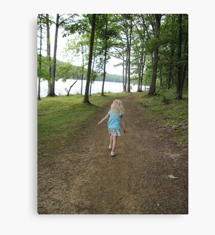 How 'Bout A Walk Canvas Print