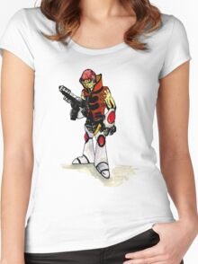 Space Marine Women's Fitted Scoop T-Shirt