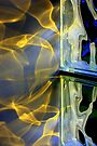 Glass Block Reflections - Ribbons of Light by AuntDot