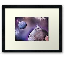 Mesmerized by Earth  Framed Print