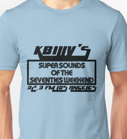 Super Sounds of the 70's Weekend (Black) Unisex T-Shirt