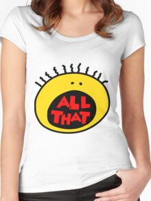 All That Women's Fitted Scoop T-Shirt