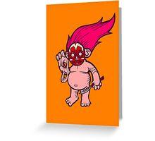 Troll Face Greeting Card