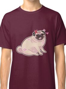 Cute Sparkly Pug Classic T-Shirt