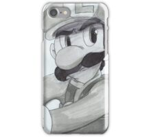 Mario Kart Luigi iPhone Case/Skin