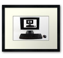 Computer Infinity View Framed Print
