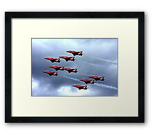 Red Arrows Display Team Framed Print