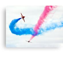 Red Arrows Fly-Past Canvas Print