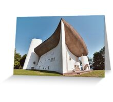 Ronchamp Church Greeting Card