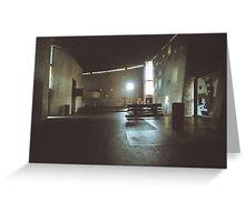 Ronchamp Interior Greeting Card