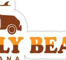 Holly Beach - Cajun Riviera. Sticker