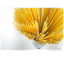 Spaghetti Cup Poster
