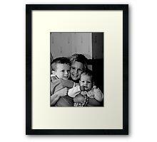 9555 BW Framed Print