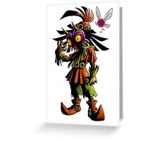 Majora's Mask Skull Kid Greeting Card