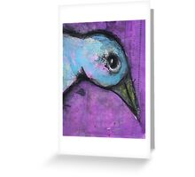 Bird - Bernard Lacoque Greeting Card