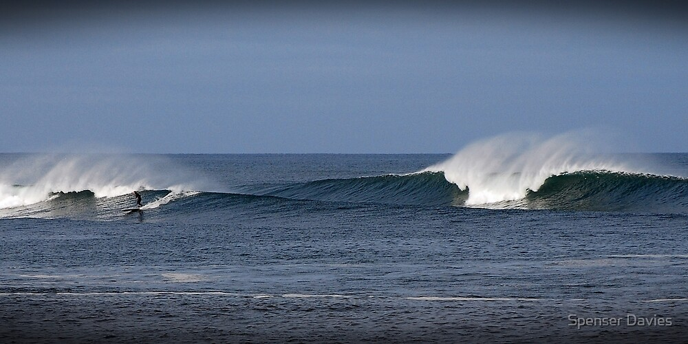 Surfing in Ireland, County Donegal by Spenser Davies