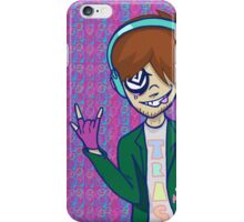 Rock On Jackie boy! Trippy Design iPhone Case/Skin