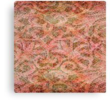 Distressed Lace Canvas Print