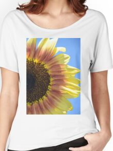 Sunflower close up Women's Relaxed Fit T-Shirt