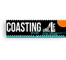 Coasting Sticker Canvas Print