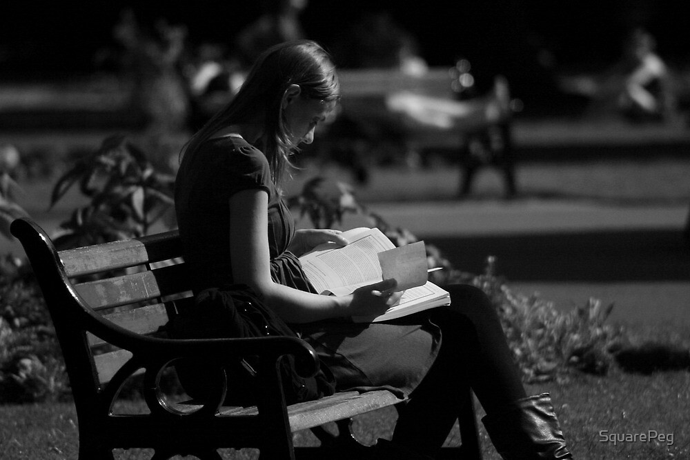 Reading in the Park by SquarePeg