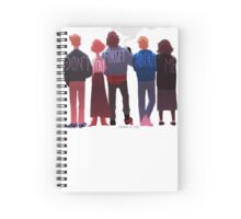 the club of five Spiral Notebook