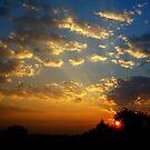 An August Sunrise... by Larry Llewellyn